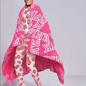 Victoria's Secret Pink Plush Blanket